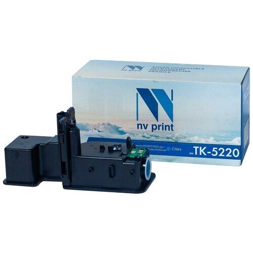 Фото - Картридж NV Print TK-5220 Cyan для Kyocera, совместимый картридж nv print tk 5230 cyan для kyocera совместимый