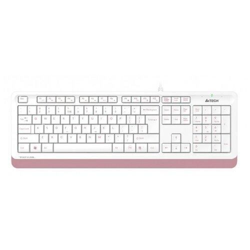 Клавиатура A4Tech Fstyler FK10 Pink USB