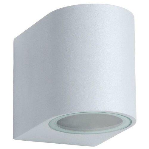 lucide mamba 09400 23 12 22 5 вт Lucide Уличный настенный светильник Zora LED 22861/05/31, GU10, 5 Вт, цвет арматуры: белый