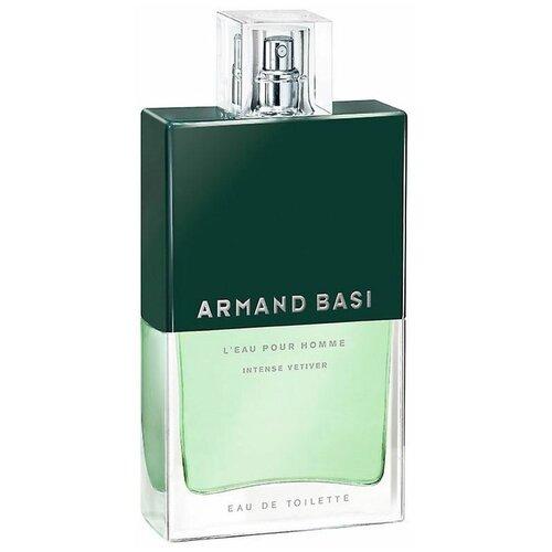 Купить Туалетная вода Armand Basi L'Eau pour Homme Intense Vetiver, 75 мл