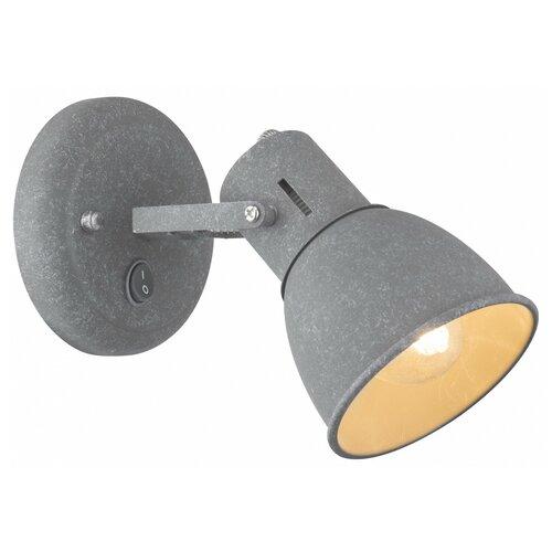 Фото - Бра Arte Lamp 1677 A1677AP-1GY, с выключателем, 40 Вт бра arte lamp serenata a3479ap 1cc с выключателем 40 вт