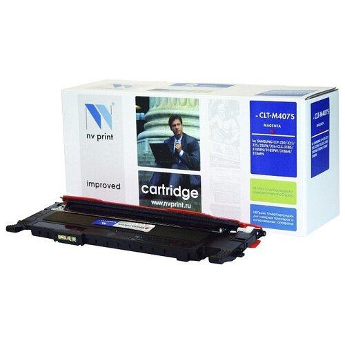 Картридж NV Print CLT-M407S для Samsung, совместимый картридж nv print clt m406s для samsung совместимый