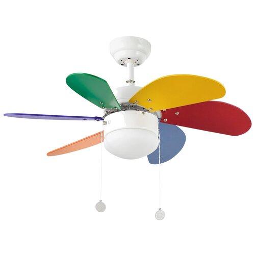 Потолочный вентилятор Faro Barcelona Palao (33179FAR), multicolor