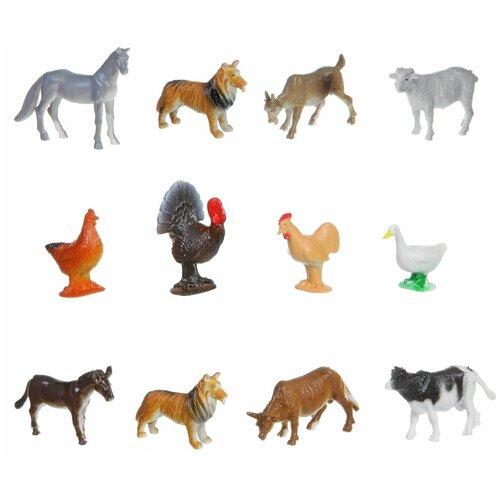 Фото - Игровой набор BONDIBON Ребятам о зверятах - Домашние животные и птицы ВВ1633 фигурки bondibon ребятам о зверятах домашние животные вв1637