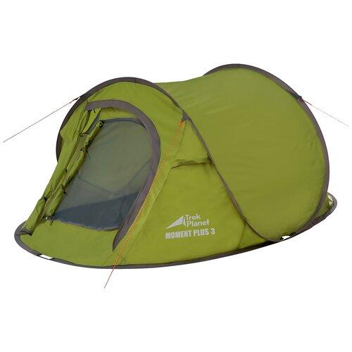 Палатка TREK PLANET Moment Plus 3 зеленый недорого