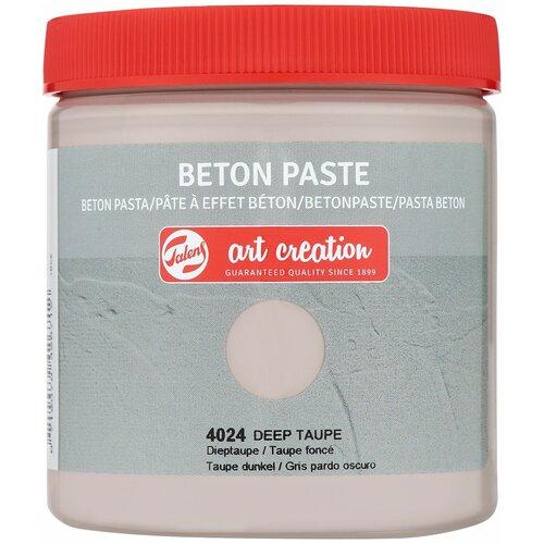 Купить Паста для декорирования с эффектом бетона Art Creation 250мл цв.4024 серо-коричневый, Royal Talens, Краски