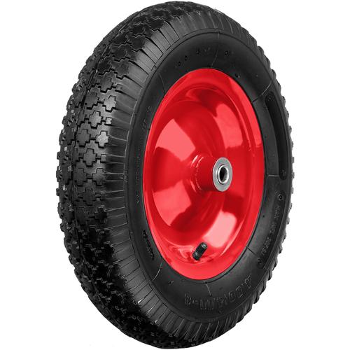 Фото - Колесо для тачки ЗУБР пневматическое КП-1 (39955-1) 380 мм колесо для тачки зубр 380х16мм полиуретановое 39912 2