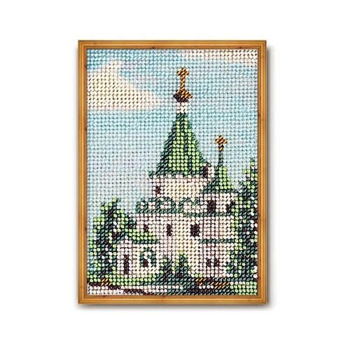 Купить Набор для вышивания Радуга бисера В-046 Нижний Новгород.Собор Кремля 14 х 10 см, Наборы для вышивания