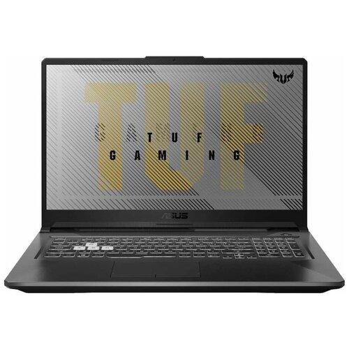 "Ноутбук ASUS TUF Gaming A17 FX706 (/17.3""/1920x1080) (/17.3""/1920x1080) (/17.3""/1920x1080) (/17.3""/1920x1080) (/17.3""/1920x1080)II-AU104R (AMD Ryzen 5 4600H 3000MHz/17.3""/1920x1080/8GB/256GB SSD/NVIDIA GeForce GTX 1650 Ti 4GB/Windows 10 Pro) 90NR03P1-M04470 серый"