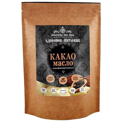 Продукты ХХII века масло какао нерафинированное, 0.4 кг