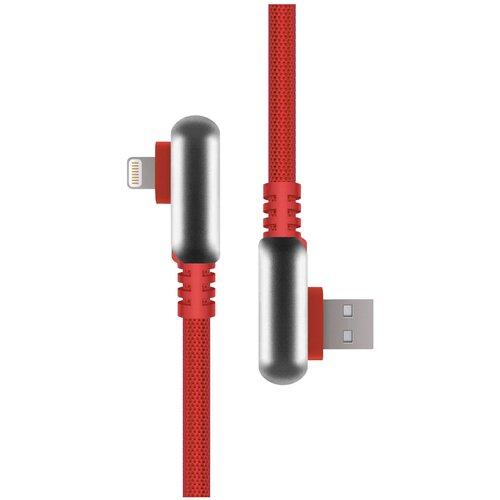 Кабель Rombica Digital USB - Lightning (IPQ-00) 1.2 м red