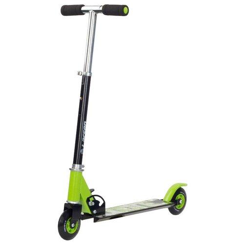 Детский городской самокат Larsen Scooter N, зеленый/черный по цене 1 067