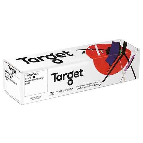 Фото - Картридж Target TR-CEXV33, совместимый картридж target tr 12a fx10 703 совместимый