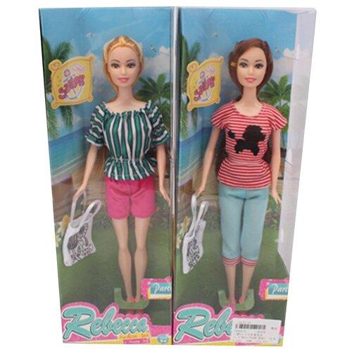 Игровой набор Модница, в комплекте кукла 29см, предм.1шт. Shantoy Gepay 8806D