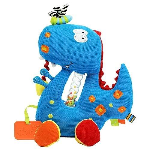 Развивающая игрушка Dolce Дино, синий развивающая игрушка dolce попугайчик бело красно голубой