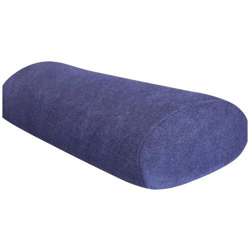 Подушка-валик Luomma ортопедическая LumF-526 15 x 38 см синий
