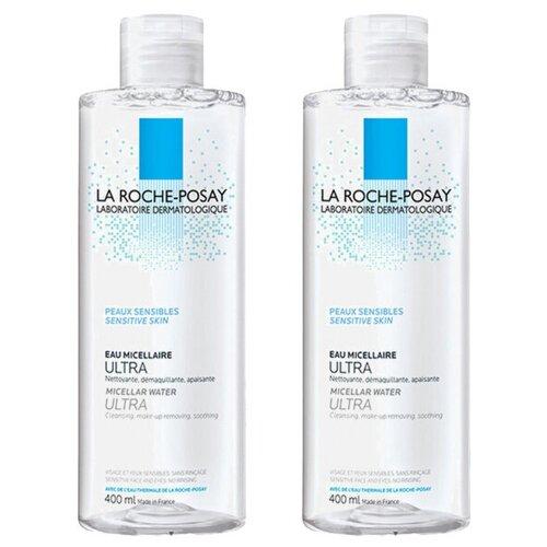 Фото - La Roche-Posay мицеллярная вода для чувствительной кожи лица и глаз Ultra Sensitive, 400 мл la roche posay мицеллярная вода для чувствительной и склонной к аллергии кожи лица и глаз ultra reactive 200 мл