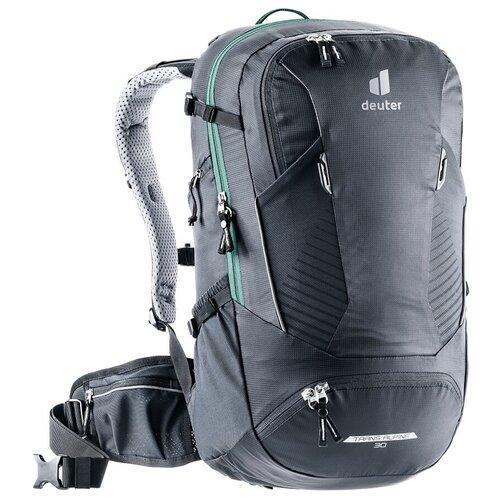 Фото - Рюкзак Deuter 2021 Trans Alpine 30 Black рюкзак вел deuter trans alpine 28 sl 2020 2021 жен 28л розовый 3205120 5563