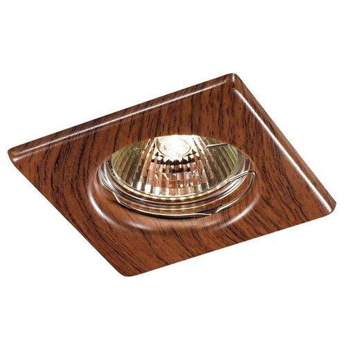 Встраиваемый светильник Novotech Wood 369717 встраиваемый светильник novotech wood 369717