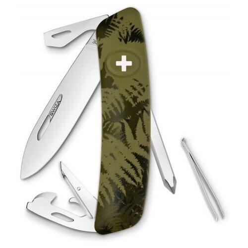 Нож многофункциональный SWIZA C04 Camouflage зеленый
