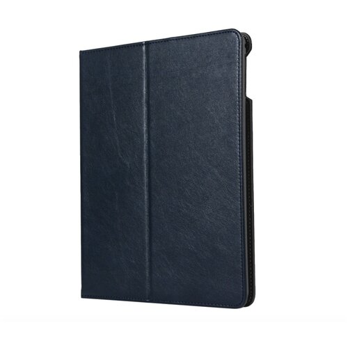 Чехол-обложка MyPads для iPad Pro 10.5/ iPad Air 2019 с трансформацией в подставку и визитницей и держателем для руки синий
