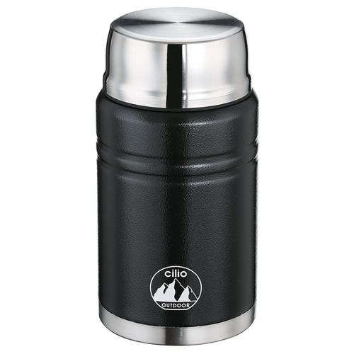 Термоконтейнер MONTE от Cilio, 0,75 л, d-9,5 см, h-19,5 см, сталь,