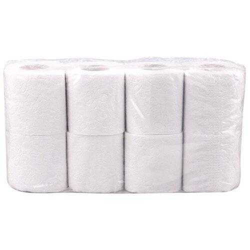 Купить Туалетная бумага Veiro Professional Comfort T207/1 белая двухслойная 8 рул.