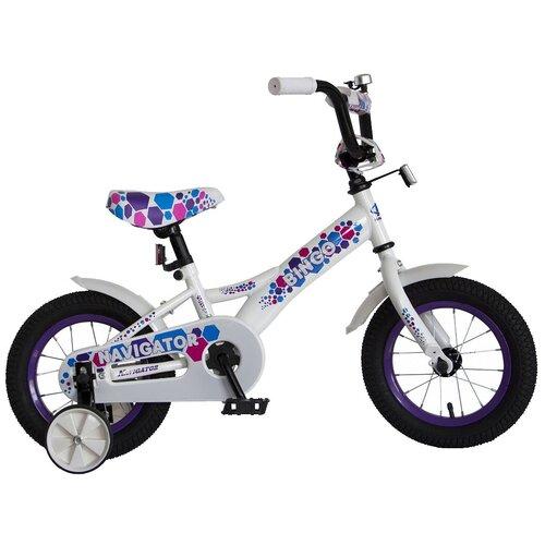детский велосипед navigator bingo вн12158 белый с рисунком требует финальной сборки Детский велосипед Navigator Bingo (ВН12158) белый с рисунком (требует финальной сборки)