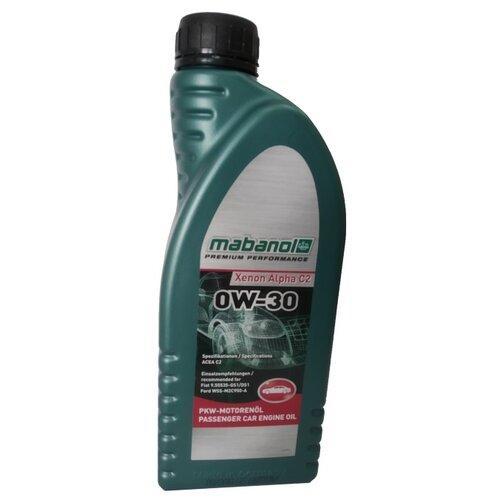 Синтетическое моторное масло Mabanol Xenon Alpha C2 0W-30 1 л