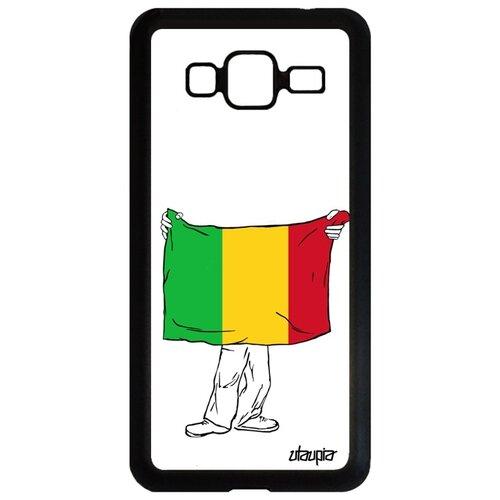 Фото - Чехол для телефона Samsung Galaxy J3 2016, Флаг Мали с руками Туризм Страна чехол with love moscow w003969sam для samsung galaxy j3 2016 девушка с вином