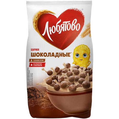 Фото - Готовый завтрак Любятово Шарики шоколадные, пакет, 200 г готовый завтрак tsakiris family лепестки шоколадные коробка 250 г