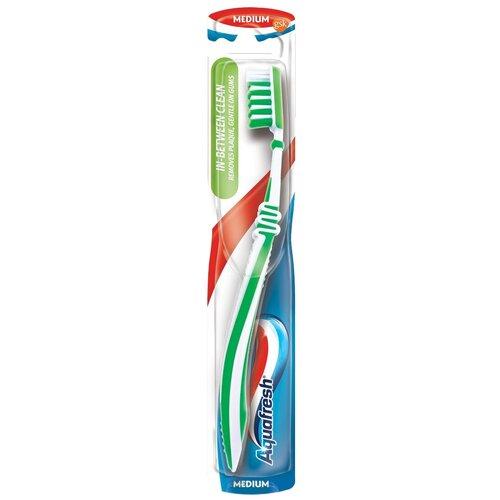 Зубная щетка Aquafresh In-Between Clean, зеленый