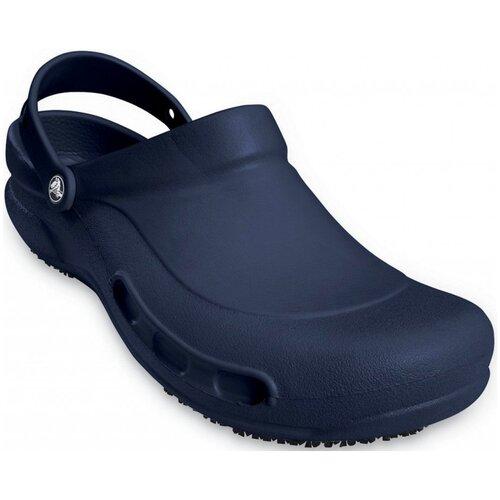 Сабо Crocs Bistro Clog, размер 37-38(M5/W7), navy crocs bistro unisex for male for female man woman tmallfs
