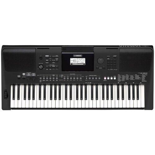 Синтезатор YAMAHA PSR-E463 черный