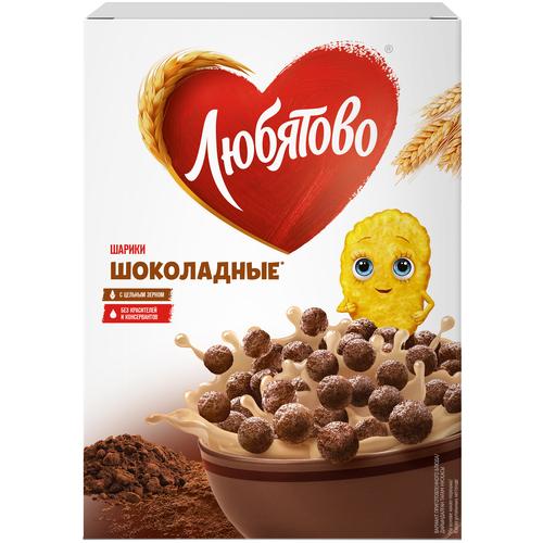 Фото - Готовый завтрак Любятово Шарики шоколадные, коробка, 250 г готовый завтрак tsakiris family лепестки шоколадные коробка 250 г
