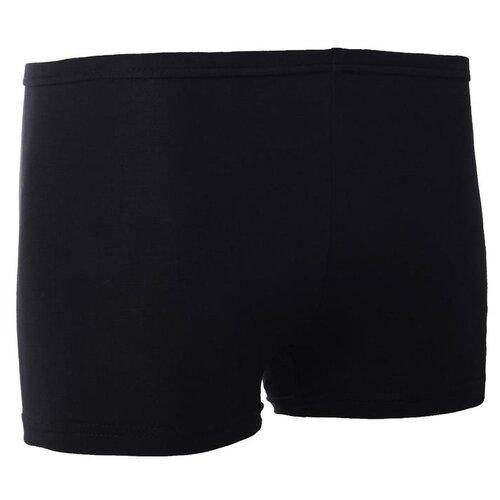 Шорты гимнастические, цвет черный,р.38 3651806