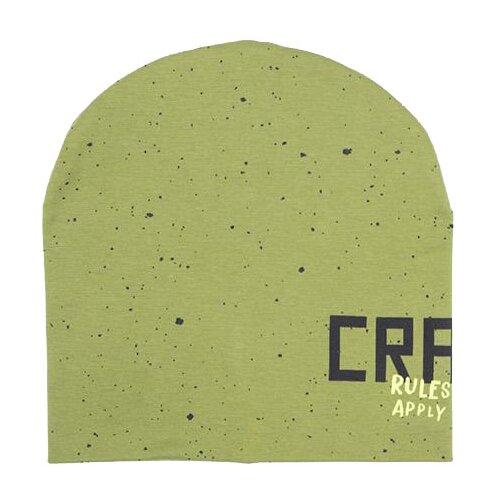 Купить Шапка бини crockid размер 50-52, зеленый/крапинка к276, Головные уборы