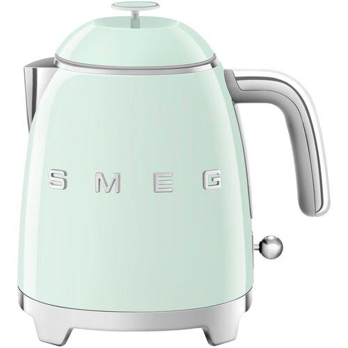 Фото - Мини-чайник электрический, объем 0,8 л, Зеленый Smeg KLF05PGEU чайник smeg klf04 зеленый