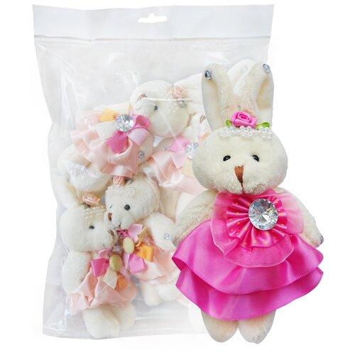 Набор мягких игрушек Color Kit Заяц в розовом 5 шт. NZ002