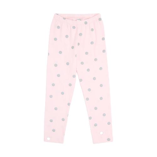 Бриджи crockid размер 128, персиково-розовый, горошек к285