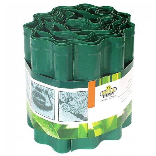 Бордюрная лента RACO 42359, 9 х 0.2 м, зеленый