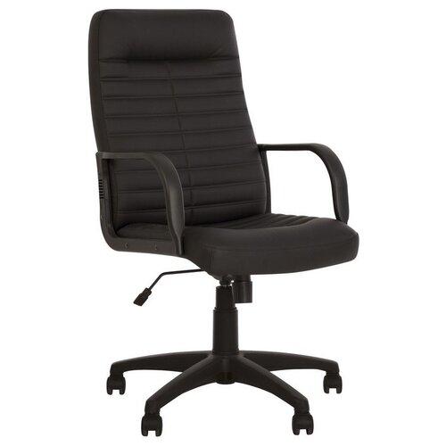 Кресло Комус Orman, экокожа, черный