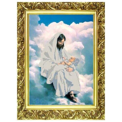 Купить Рисунок на ткани «Конёк» 9508 На облаках, 29x39 см, Наборы для вышивания