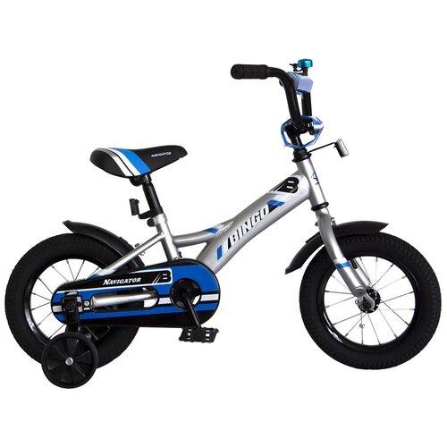 детский велосипед navigator bingo вн12158 белый с рисунком требует финальной сборки Детский велосипед Navigator Bingo (ВН12157) серебристый (требует финальной сборки)