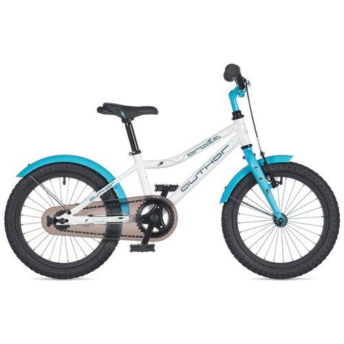 """Детский велосипед Author Orbit 16 (2020) white/blue 9"""" (требует финальной сборки)"""
