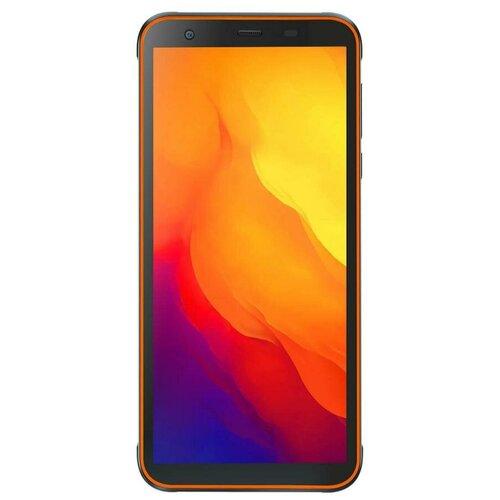 Смартфон Blackview BV6300, черный/оранжевый смартфон blackview bv4900 черный оранжевый