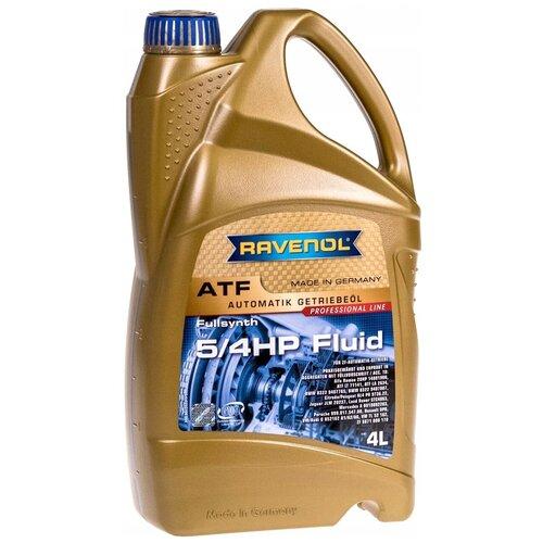 Масло трансмиссионное Ravenol ATF 5/4 HP Fluid 4 4 л недорого