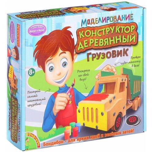 Конструктор BONDIBON Досуг с Буки ВВ1232 Грузовик