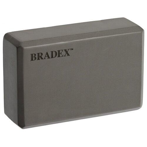 Фото - Блок для йоги BRADEX SF 0407 / SF 0408 / SF 0409 серый блок для йоги bradex sf 0407 sf 0408 sf 0409 серый