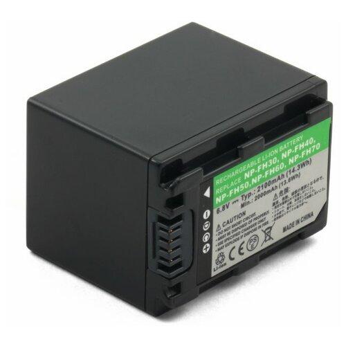 Фото - Усиленный аккумулятор для видеокамеры Sony NP-FH60, NP-FH70 усиленный аккумулятор для видеокамеры sony np fp90 np fp91